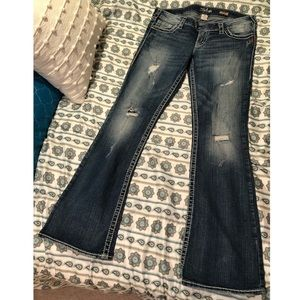 Silver Jeans Low-rise Tuesday Jeans
